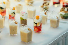 Catering food wedding buffet. Event Royalty Free Stock Images