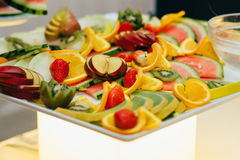 Catering food wedding buffet. Event Royalty Free Stock Photo