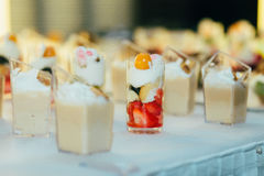 Catering food wedding buffet. Event Stock Image