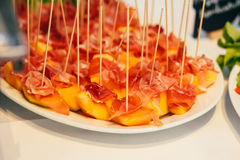 Catering food wedding buffet. Event Stock Photography