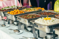 Catering Food Wedding Event. Table Royalty Free Stock Photography