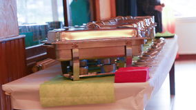 Catering Food Wedding Event stock footage