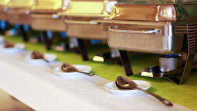 Catering Food Wedding Event stock video