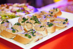Catering food Royalty Free Stock Photography