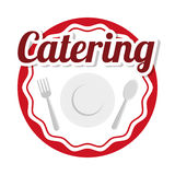 Catering icon design Royalty Free Stock Photo