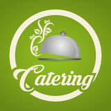 Catering icon design Stock Photography
