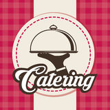 Catering icon design Stock Image