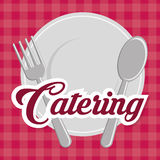 Catering icon design Royalty Free Stock Image