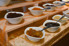 Catering jam and marmalade Royalty Free Stock Photography