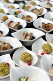 Catering. A lot of cold snacks on buffet table Stock Photography