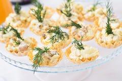 catering Mat för aptitretaren, mellanmål Parti händelse arkivbild
