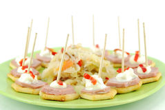 Catering party food Stock Photos