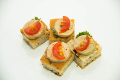 Catering  party Food and cocktail Royalty Free Stock Images