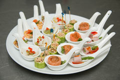 Catering  party Food and cocktails Royalty Free Stock Image