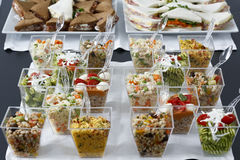 Catering Pesto Farro Cous Cous Stock Image