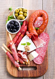Catering platter Royalty Free Stock Image