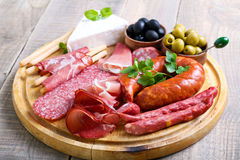 Catering platter Stock Photo