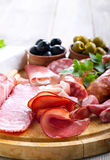 Catering platter Stock Image