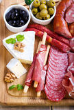 Catering platter Stock Images