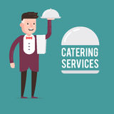 Catering service Stock Photo