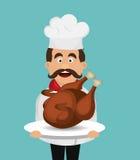 Catering service design Stock Photo