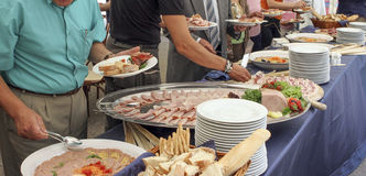 Catering Stock Image