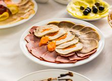 Catering services Stock Photography