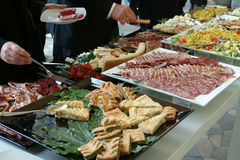Catering set Royalty Free Stock Image