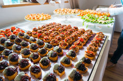 Catering specialities Royalty Free Stock Image