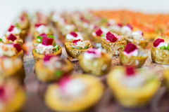 Catering specialities Stock Photography
