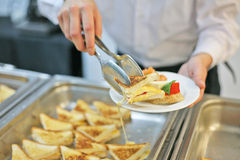 Catering survice Stock Images