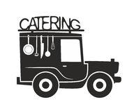 Catering symbol template Royalty Free Stock Image