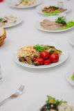 A Catering table Royalty Free Stock Photos