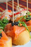 Catering, tapas Royalty Free Stock Images