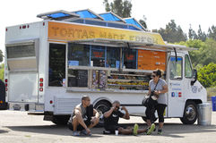 Catering truck Stock Photography