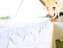 Catering usługuje tło Obrazy Royalty Free