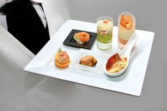 Catering waiter Stock Images