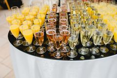 Catering wedding buffet events. Catering wedding buffet for events Stock Image