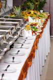 Catering wedding Royalty Free Stock Photos