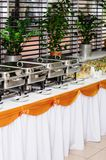 Catering wedding Royalty Free Stock Image