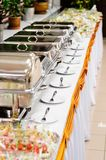 Catering wedding Stock Photography