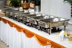 Catering wedding Royalty Free Stock Photo