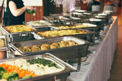Catering wedding event plate. Service Stock Photos
