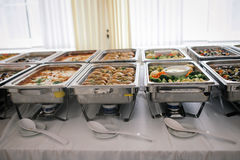 Catering wedding food buffet Stock Photography