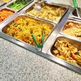 Cateringsbuffet met vegetarisch voedsel Royalty-vrije Stock Afbeelding