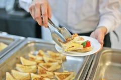 Cateringssurvice Stock Afbeeldingen