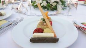 Cateringu bankieta stół zdjęcie wideo