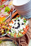 cateringu jedzenie Obrazy Stock