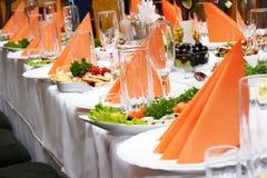 cateringu jedzenie Obraz Royalty Free