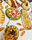 Cateringu jedzenie Zdjęcia Stock